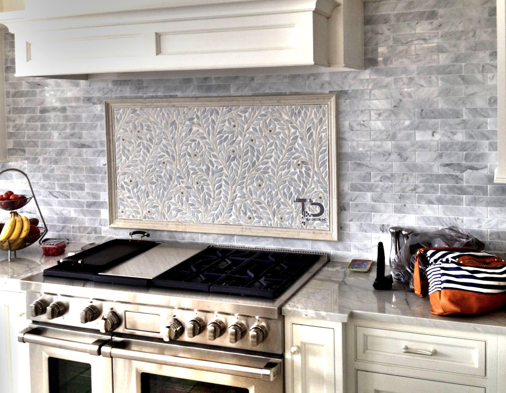 beautiful tile kitchen